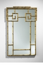 Gold Bamboo Rectangular Mirror by Cyan Design