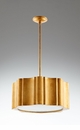 Gold Cloud Nine Six Light Pendant by Cyan Design