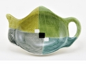 Green Tea Geometric Tea Bag Holders (12) by Hues & Brews