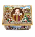 Halcyon Days 450th Anniversary of Shakespeare birth Enameled Box