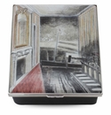 Halcyon Days Harbour & Room Paul Nash Enameled Box