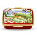 Halcyon Days Spirit of Forest Porcelain Box
