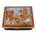 Halcyon Days The Prayer of St Francis Enameled Box
