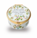 Halcyon Days To Have A Dream And See It Come True Keepsake Box