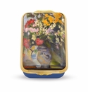 Halcyon Days Two Vases of flowers Paul C�zanne Enameled Box