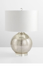 Hammered Glass Table Lamp by Cyan Design