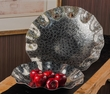 """Hammered Nickel """"Water Mark"""" Bowl Home Decor"""