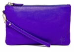Handbag Butler Mighty Purse (Phone Charger with Apple and Micro USB Adaptors) - Icy Purple Wristlet