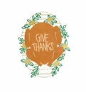 Happy Everything Give Thanks Mini Attachment