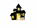 Happy Everything Haunted House Big Attachment