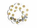 Happy Everything Neutral Dot 20 Wooden Wreath