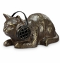 Hep Cat with Bluetooth Speaker Sculpture by SPI Home