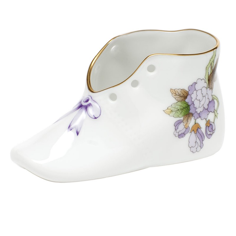 """Herend Royal Garden """"S"""" Baby Shoe - Royal Garden Limited ..."""