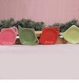 Holiday Assorted Tea Bag Holders (4) by Hues and Brews