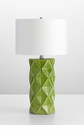 Hoshi Green Apple Ceramic Table Lamp by Cyan Design