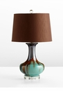 Hyde Blue Ceramic Table Lamp by Cyan Design