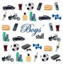 Ideal Home Range 20 ct Cocktail Napkins - Boys Stuff