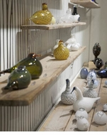 iittala Toikka Glass Bird FIgurines