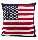in2green American Flag Throw Pillow