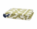 in2green Throws Elements Pistachio/Slate Throw