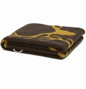 in2green Throws Stag Longhorn Chocolate/Dijon Throw