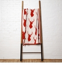 in2green Throws Stag Silhouette Spice Throw