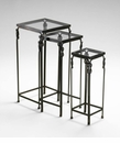 Infinity Nesting Tables Set (3) by Cyan Design
