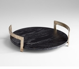 Infinity Round Tray by Cyan Design
