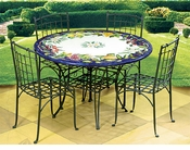 Intrada Italian Ceramic Tables & Chairs
