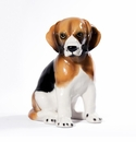 Intrada Italy Beagle Sitting Statue