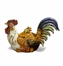 Intrada Italy Campagna Small Rooster Tureen