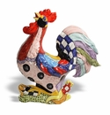 """Intrada Italy Fantasia Rooster 13.5""""H x 12.5""""L"""