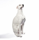 Intrada Italy Greyhound White Statue