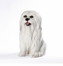 Intrada Italy Maltese Dog Statue