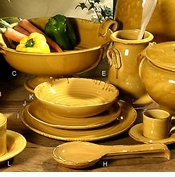 Intrada Italy Provenza Yellow Tableware