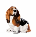 Intrada Italy Small Basset Hound Dog Statue