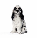 Intrada Italy Small White Cocker Spaniel Dog Statue