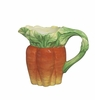 J Willfred Ceramics Carrot Pitcher