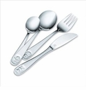 JA Henckels Children's Flatware Bino 4 Piece Set