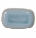 Jars Ceramics Plume Ocean Blue Rectangular Dish 15.7""