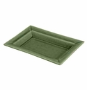 "Jars Ceramics Tourron Samoa Rectangular Dish L 14.2""X10.6"""