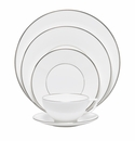 Jasper Conran China Platinum 5 Piece Place Setting