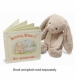 Jellycat Bashful Bunny Big Adventure Book