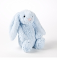 Jellycat Bashful Bunny Blue w/ Chime