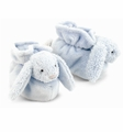 Jellycat Bashful Bunny Booties Blue