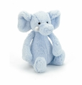 Jellycat Bashful Elly Rattle Blue