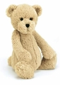 Jellycat Bashful Honey Bear - Large Stuffed Animal