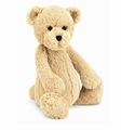 Jellycat Bashful Honey Bear - Medium Stuffed Animal