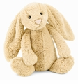 Jellycat Bashful Honey Bunny - Medium Stuffed Animal