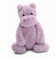 Jellycat Bashful Lilac Hippo Stuffed Animal